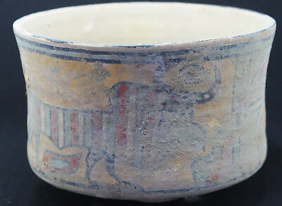 Ancient Large Teracotta Painted Pot With Cow And Lion Indus Valley 2500BC#SH1003