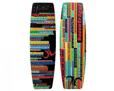 JN twin tip board, Chit Chat 131,  naked , Freestyle, Freeride