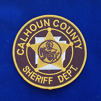 Calhoun County Sheriff Dept Patch
