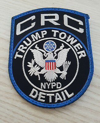 NYPD Trump Tower CRC  Patch - Critical Response Command