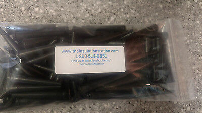 """100 2"""" Cone Tip Can Foam Gun Barb Extenders Spray Insulation Rig Tools Fit All"""