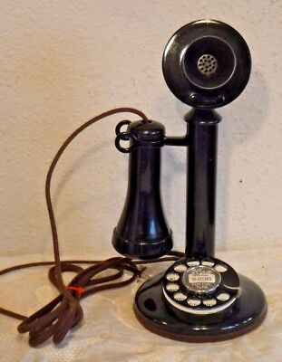Western Electric 50AL Candlestick Rotary Dial Tabletop Telephone Wired & Working