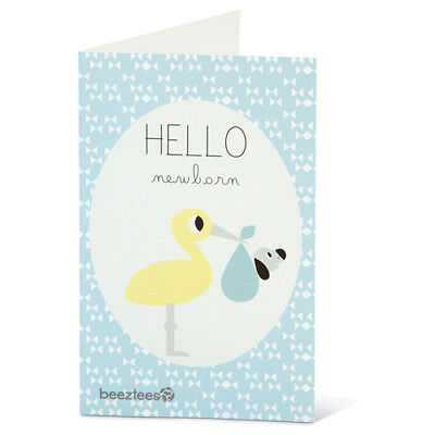 Beeztees Puppy/Puppies Postcard with Envelope Hello, New