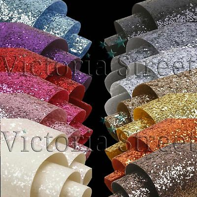 Chunky Glitter Fabric Wallpaper - Heavy Duty GlitterWall Glitterbugs Crystal
