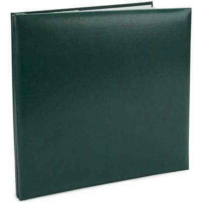 "Pioneer Leatherette Post Bound Album 12""X12"" Green 023602600997"