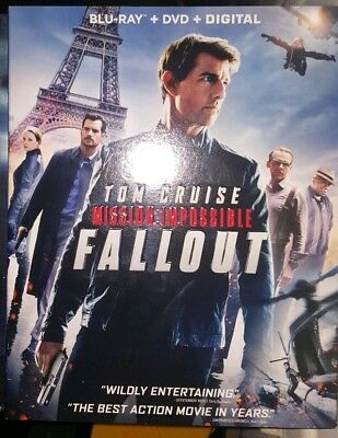 Mission Impossible Fallout Blu Ray and DVD