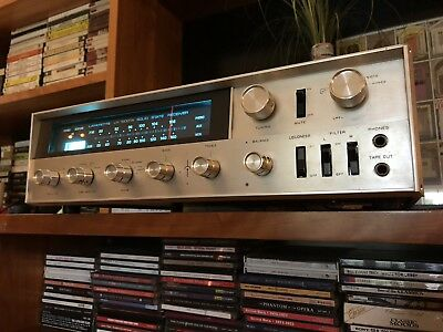 Vintage Lafayette LR-1500TA Stereo Receiver Serviced, Fully Tested - Excellent!