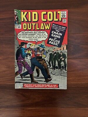 Kid Colt Outlaw  #118 Sept (Marvel- 1964) The Chain Gang of Pecos Pass