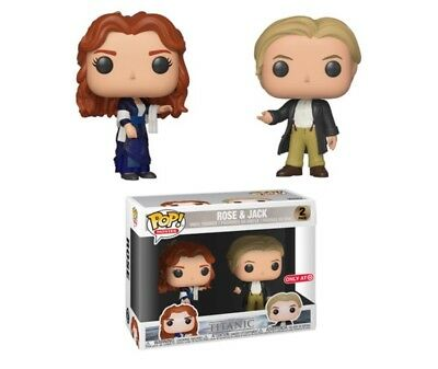 Funko Pop Movies Titanic Jack And Rose 2 Pack Target Exclusive PREORDER