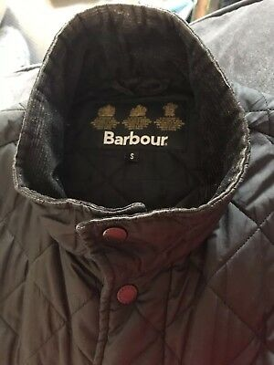 BARBOUR Men's Lightweight Padded Quilted Jacket Coat SIZE S