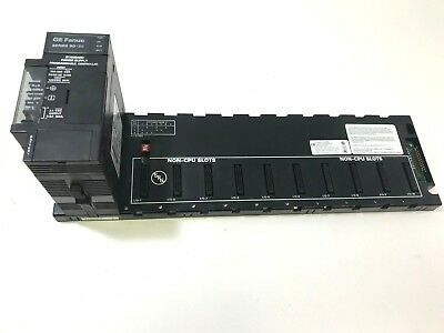 GE Fanuc IC693PWR321W Power Supply with IC693CHS392J 10 Slot Expansion