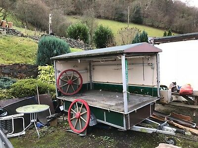 Authentic Norwegian Catering Trailer - Perfect Restoration Project