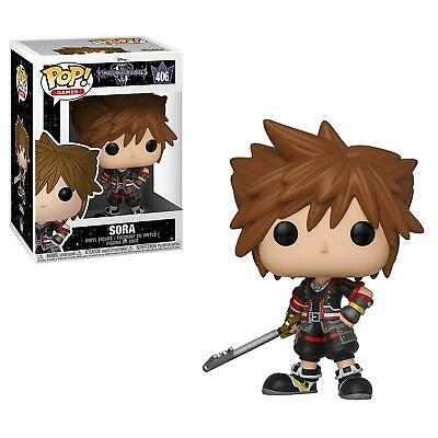 Funko Pop Sora 406 Kingdom Hearts Iii 3 Figure Videogames Riku Disney Game 9 Cm