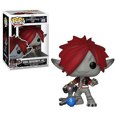 Funko Pop Sora 408 Kingdom Hearts Iii 3 Figure Videogames Monster's Inc Disney