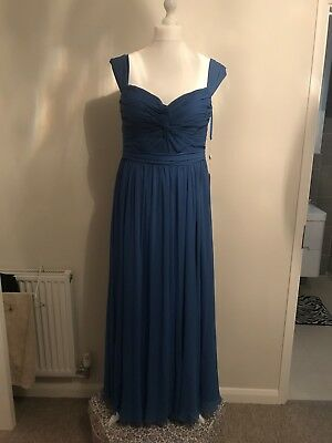 Blue Ball Gown / Occasion / Prom Dress - Size 18