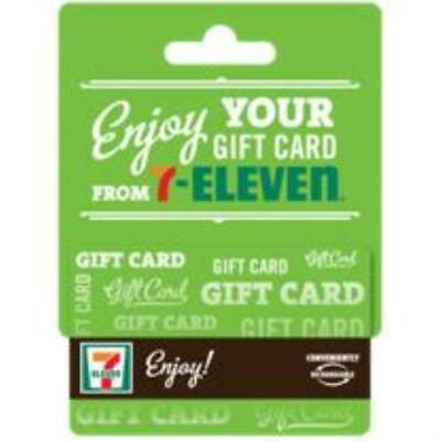 7-Eleven $50 Gift Card No Fees - Already Activated and ready to Use! Great gift!