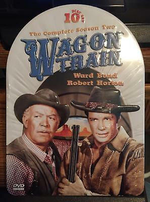 Wagon Train: The Complete Season Two 2 (10-Disc DVD Set) LIMITED EDITION TIN