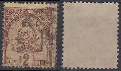TUNISIA ----- ARMS OF TUNIS,  2c,   Used