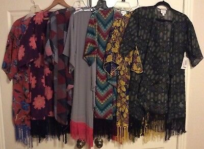 LuLaRoe Monroe Sheer Kimono, New With Tags, Size Small, Last Two!
