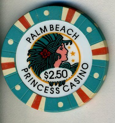 $2.50 Obsolete * Palm Beach Princess * Day Cruise.