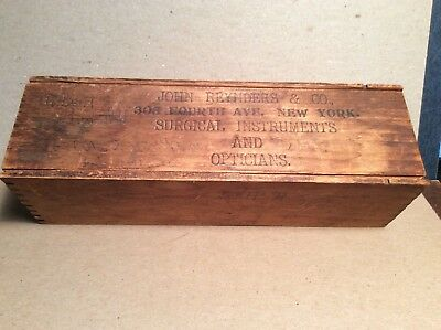 John Reynders & Co. New York Surgical Instruments Box