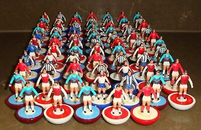 JOB LOT OF 75 x ASSORTED SUBBUTEO ZOMBIE PLAYERS IN USED CONDITION FOR SPARES
