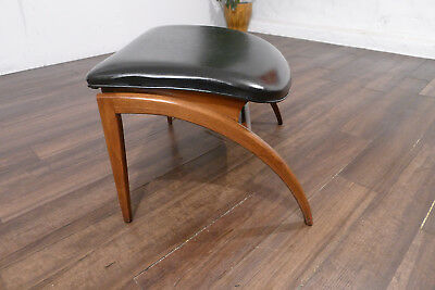 Mid-Century Modern Rare Parallel Ottoman ONLY, Barney Flagg for Drexel