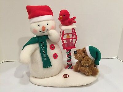 2013 Hallmark 11th Jingle Pals Merry Carolers Trio Animated Musical Plush