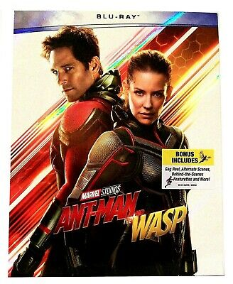 "Marvel Studios ""ANT-MAN AND THE WASP (2018)"" Comic Book Movie BLU-RAY, Paul Rudd"