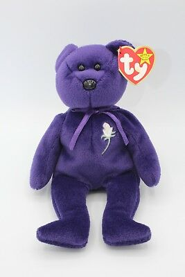 """""""Princess"""" Ty Beanie Baby MINT Condition Kept in Display Box FREE US Shipping"""