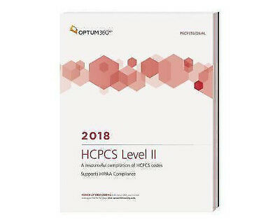 HCPCS Level II Professional 2018 (Softbound) by Optum360