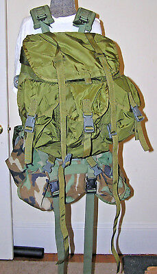 Tactical Tailor Field Pack Combat Nylon Medium LC-1 Malice Pack New Cond.