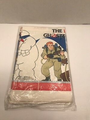 The Real Ghostbusters 1984/1986 Tablecloth Party Decorations Unopened