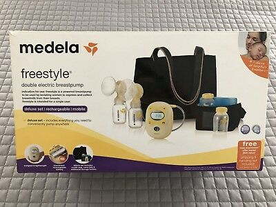 Used Medela Freestyle Portable Double Electric Breast Pump