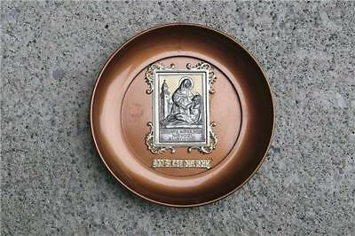 Rare Vintage Catholic Sorrowful Mother Shrine Marywood Bellevue Ohio Medal Plate