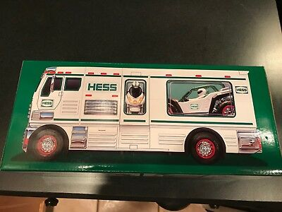 One 2018 Hess Toy Truck RV NIB - SOLD OUT ON LINE
