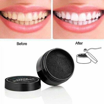 Organic Carbon Bamboo Activated Charcoal Teeth Whitening Powder Toothpaste 30g