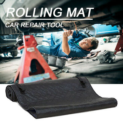 Black Magic Automotive Repair Tool Creeper Pad Car Rolling Mat Blanket Repairing
