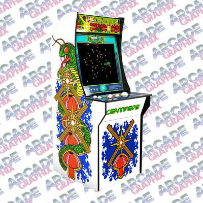 Arcade1up Centipede Arcade Cabinet Lower Kickplate Graphic Decal Artwork Kit