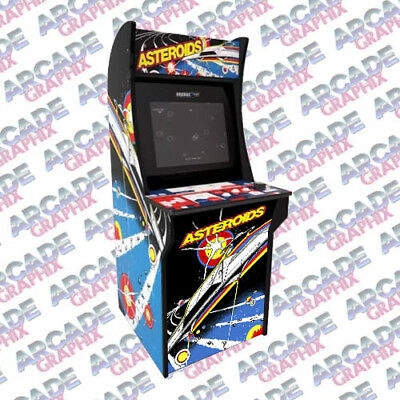 Arcade1up Asteroids Arcade Cabinet Lower Kickplate Graphic Decal Artwork Kit