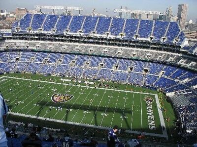 12/30/2018 Baltimore Ravens vs Cleveland Browns NFL Tickets (2) Aisle Seats