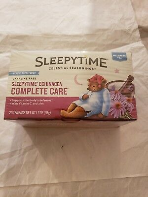 Celestial Seasonings Sleepytime Echinacea Complete Care Tea 20 ea (Pack of 6)