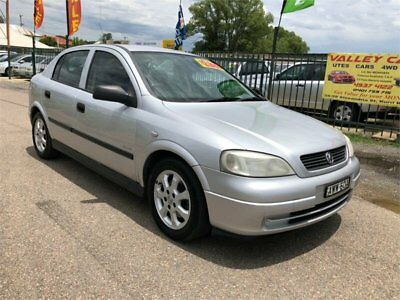 2005 Holden Astra TS Classic Silver Automatic 4sp A Hatchback