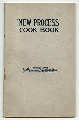 """""""New Process"""" COOK BOOK by New Process Stove Co Catalogue Cookbook"""