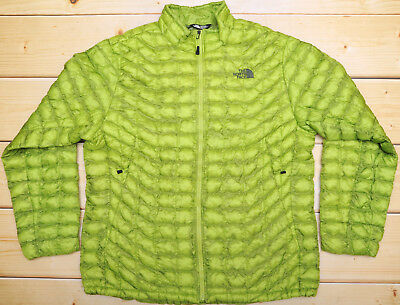 THE NORTH FACE THERMOBALL MACAW GREEN - PRIMALOFT insulated MEN S JACKET -  XL a0fb80936893