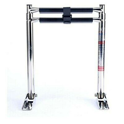 2 Step Telescoping Boat Ladder-Compact and Efficient /Marine grade Stainless