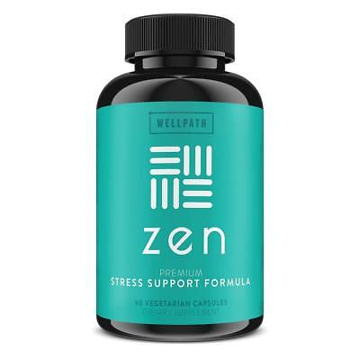Zen Premium Anxiety and Stress Relief Supplement - Natural Herbal Formula...