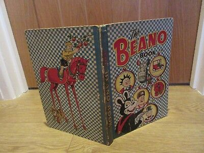 THE BEANO Book/Annual,1952 -VGC CONDITION - LIKE  DANDY- inscription free
