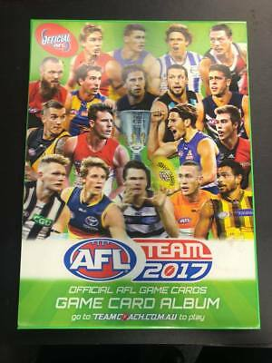 2017 AFL Teamcoach BEST & FAIREST - Trading Card Singles for Sale - you choose