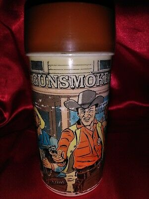 1972 Gunsmoke Thermos  Aladdin Industries USA